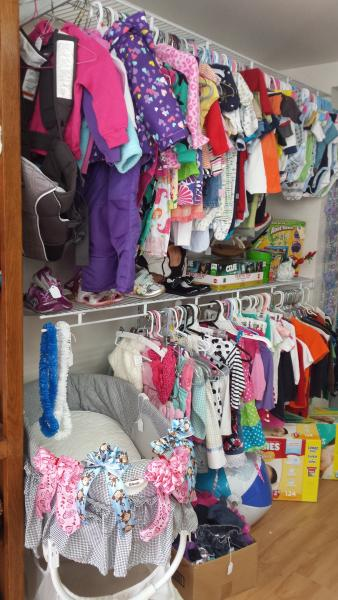 Lots of Children's Clothing Available!]